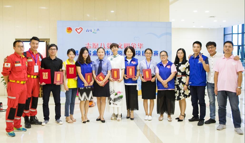 201709参与金华项目大赛获奖伙伴